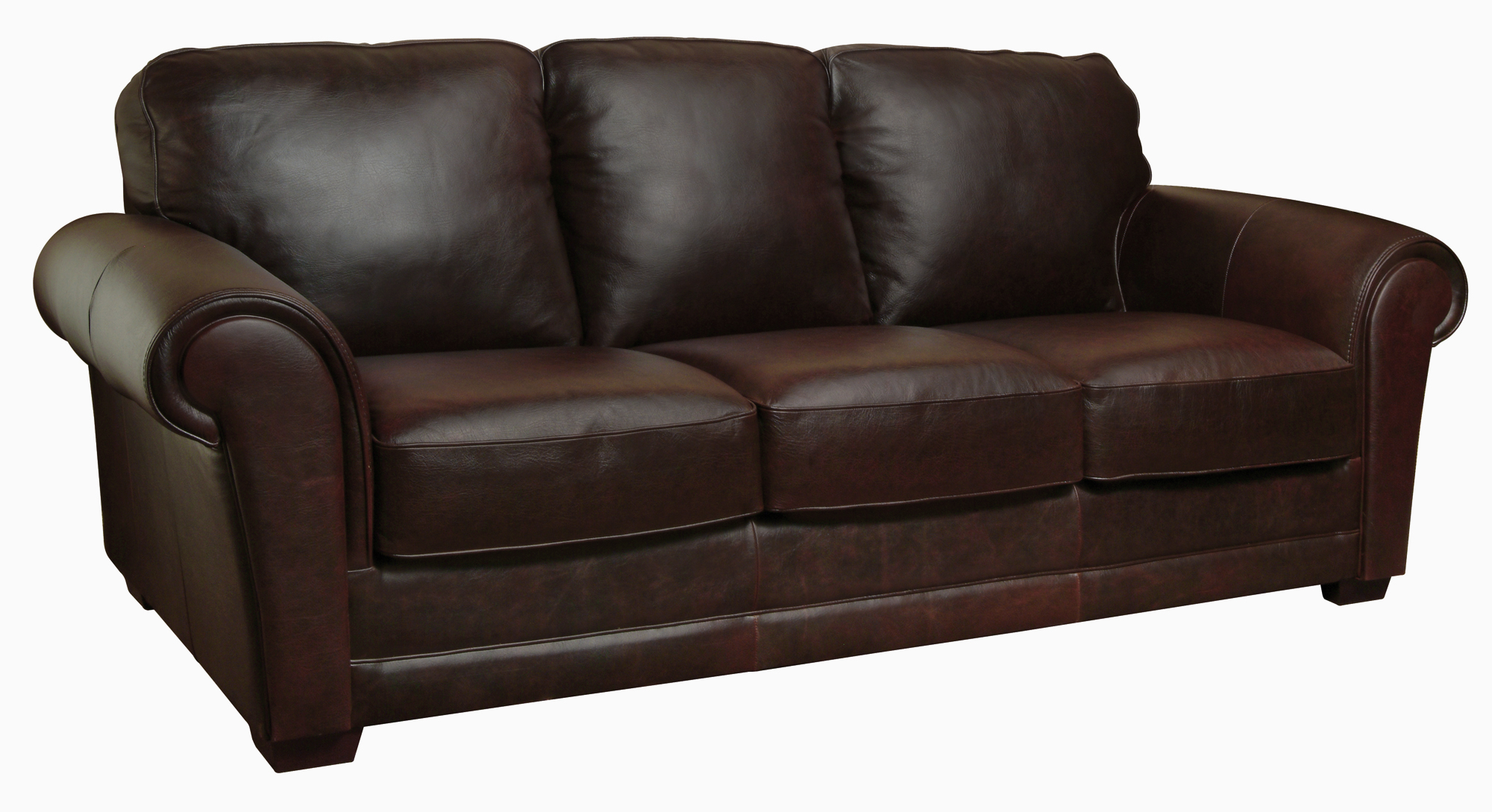 New luke leather mark italian leather distressed for Furniture leather sofa