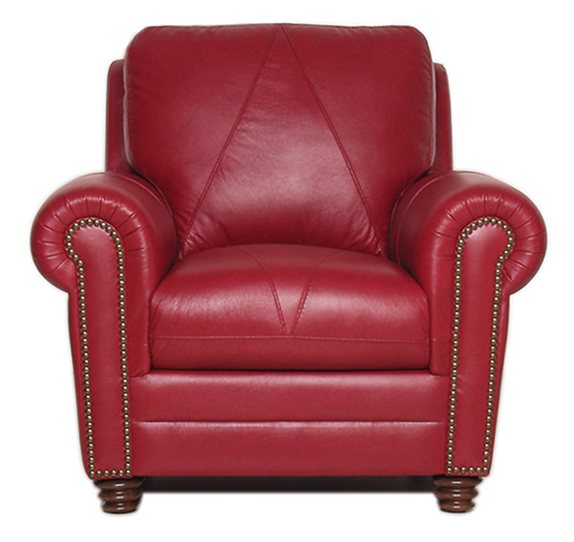 Red Faux Leather Sofa hmmi