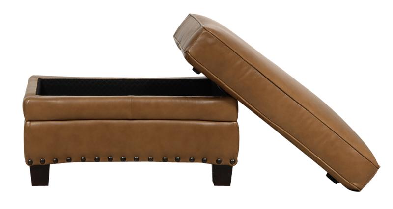 Luke Leather Mark Sofa
